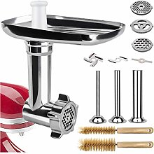 Semlos Food Meat Grinder Attachment, for