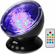 Semlos Ocean Wave Projector Remote Control, Night