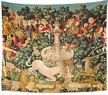 Semtomn Tapestry Artwork Wall Hanging Doodlefly