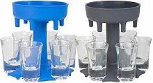 SENDKEEL 6 Shot Glass Dispenser and Holder