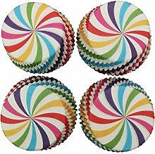 SeniorMar-UK 100pcs Mini cupcake liner baking cup