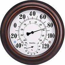 Senmubery Indoor/Outdoor Thermometer Hygrometer