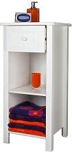 Sennen Freestanding Open Shelf Cabinet // White