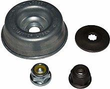 SENRISE Nut Fixing Tool Kit, Plate Nut Set 4Pcs