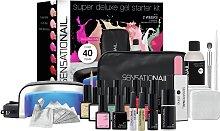 SensatioNail Gel Nail Polish Deluxe Starter Kit