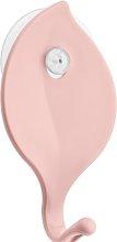 Sense Wall Mounted Towel Hook Koziol Colour: Pink