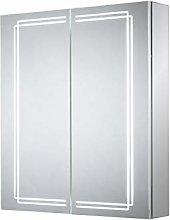 Sensio Harlow Double Door Diiffused LED Mirror