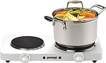 Sensio Home Portable Electric Double Hot Plate Hob