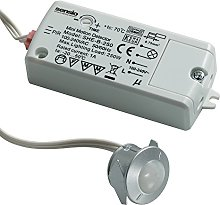 Sensio Wardrobe In-Cabinet PIR Sensor Switch -