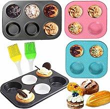 Senteen Baking Tray Muffin Tin 4 Pcs Muffin Tray