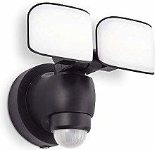 Sentinel Twin LED Floodlight with Motion Sensor -