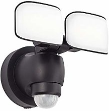 Sentinel Twin LED PIR Floodlight Outdoor Motion