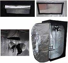 Senua Hydroponics Grow Room Tent 60x60x140 cm