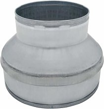 Senua Metal Extraction Fan Galvanized Aluminium