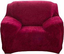 Seogva Velvet Sofa Cover, 1-Piece Sofa Slipcover