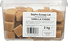 Sephra English Vanilla Fudge in Tub 2 kg