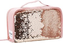 Sequin CC Lunch Bag - Rose Gold
