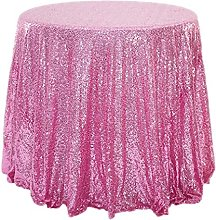 Sequin Tablecloth for Wedding, Banquet,