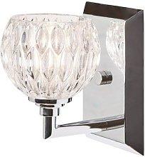 Serena bathroom wall light, one-bulb