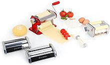 Serena Rossa Pasta Maker 3 Attachments Stainless