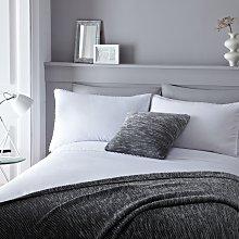 Serene Pom Pom White Bedding Set - Kingsize.