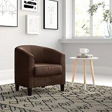 Serenity Tub Chair Zipcode Design Upholstery