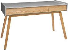 Sereno Desk Mikado Living Top Colour: Grey