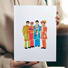 Sergeant Pepper Wall Art Print | Gift for a