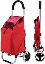 Serrale Foldable Aluminum Shopping Trolley