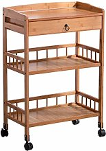 Serving Trolley Kitchen Trolley 3 Tier Cart with