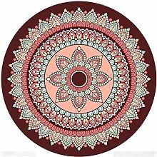 SESO UK-CAR Personality flower Carpet Round