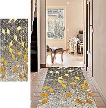 SESOUK Runner Rug for Hallway, Geometry Carpet