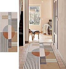 SESOUK Runner Rug, Geometric Pattern Rug Carpet