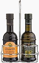 Set 100% Italian Extra Virgin Olive Oil + Balsamic