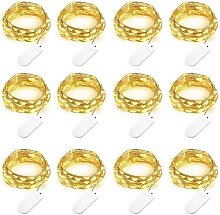Set of 12 Battery Powered String Lights (Included)