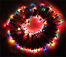 Set of 120 Multicoloured Traditional Fairy Lights