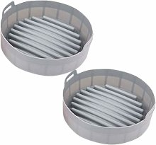 [Set of 2] Air Fryer Silicone Pot [7.5 inch]