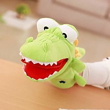 Set Of 2 Children's Hand Puppet Toy Doll Plush