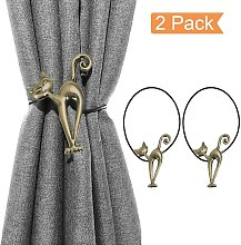 Set of 2 Creative Magnetic Curtain Holdbacks with