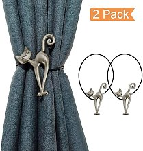 Set of 2 Creative Magnetic Curtain Tie Backs for