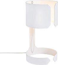 Set of 2 design table lamps white - Waltz