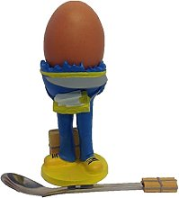 Set of 2 Vintage Novelty Egg Cup Holders With