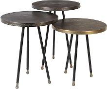Set of 3 Alim side tables