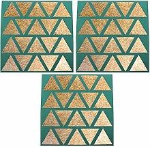 Set of 3 - Dehydrator Triangle Chip Mold Shape