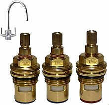 Set of 3 Replacement Cartridges for the Franke