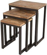 Set of 3 Suri side tables