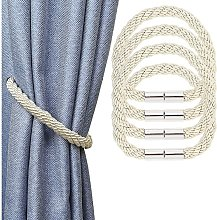 Set of 4 curtain kiss with modern modern style