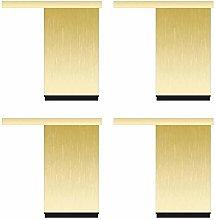Set of 4 Furniture Cabinet Feet Adjustable