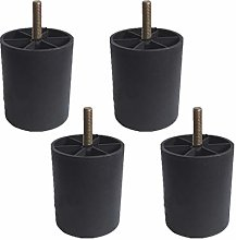 Set of 4 Furniture Feet Furniture Legs,Plastic