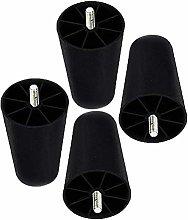 Set of 4 Furniture Legs Plastic Furniture